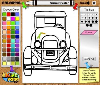 Игры для мальчик онлайн бесплатно раскраски машин